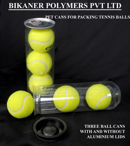 Tennis Ball Pet Cans
