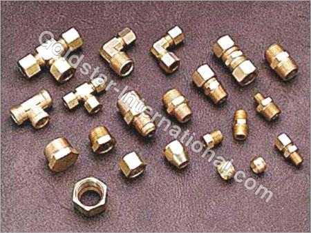 Brass Compression Fittings, Pipe & Flare Fittings