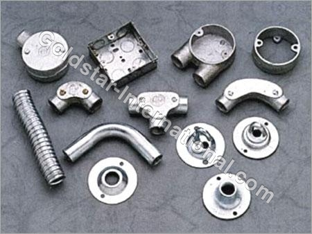 G.I. Pipes & Conduit Accessories (GI 005)