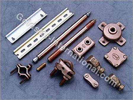 Brass Earthing & Lightning Protection System
