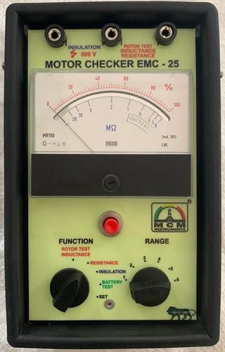 Analog  Motor Checker