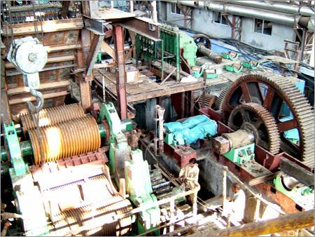 Installation of Six Roller Sugar Mills