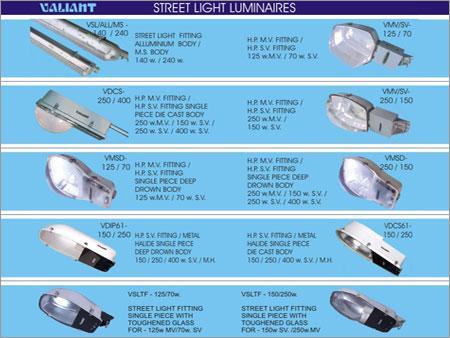 Street Light Luminaires