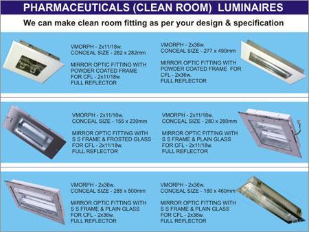 Clean Room Luminaires