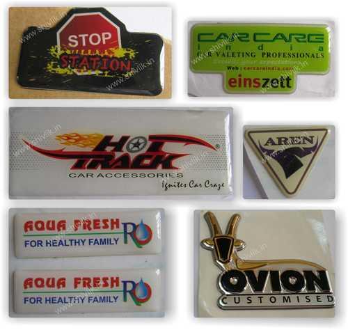 Epoxy Dome Labels