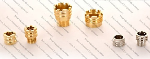 Brass Male Female Inserts for CPVC Fittings