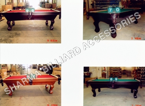 Professional Custom Made Pool Table