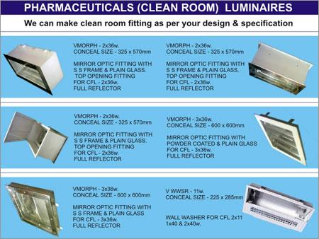 Pharmaceuticals Luminaires