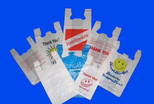 Plastic T-Shirt Bags