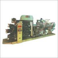 6 Colour Uv Rotary Letter Press Label Printing Machine