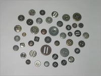4 Holes Metal Buttons
