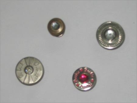 Designer Stone Buttons