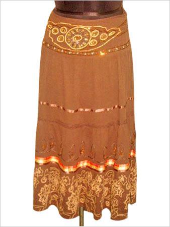 Skirt With Bead