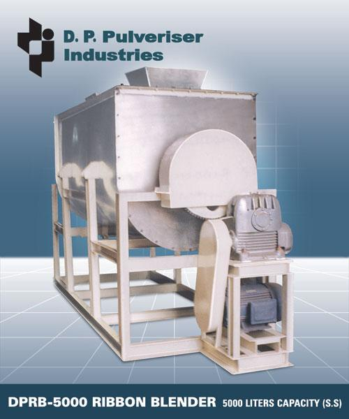 Industrial Ribbon Blenders
