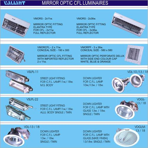 Commercial Mirror Optic CFL Luminaires