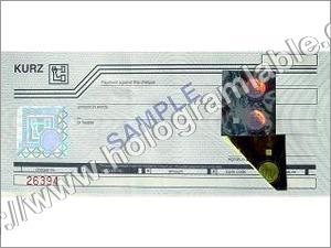 Hot Stamp Holograms