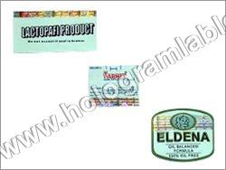 Holographic PVC Labels