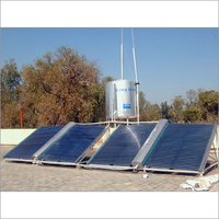 Project Type Solar Water Heating System