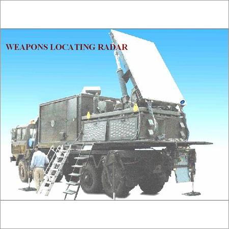 Weapon Locating Radar