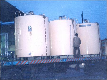 Cream Storage Tanks