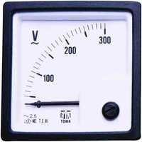 SD 72 Analog Panel Voltmeter