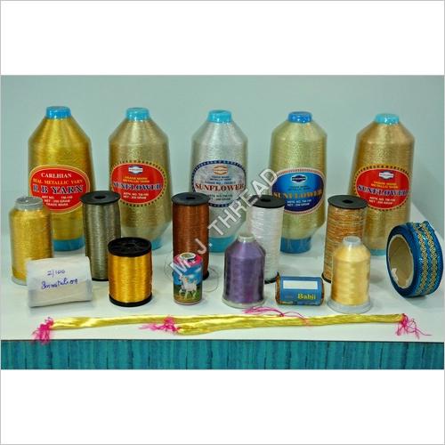 Polyester Metallic Zari Thread