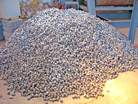 Our Lead Balls For Oxide Mill