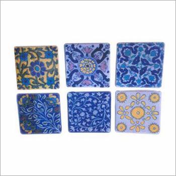 Blue Pottery Tiles