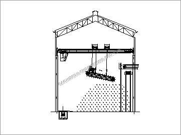Bagasse Reclaimer Crane With Scrapper Chain Conveyor