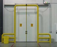 Flame Proof Cage Hoist Arrangement