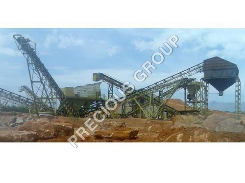 Semi Stone Quarry Plant