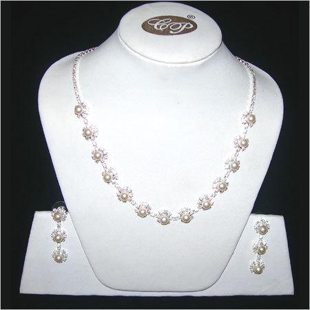 Crystal Studded Necklace