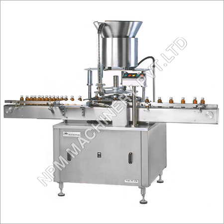 Automatic Measuring Dosing Cup Placement & Pressing Machine