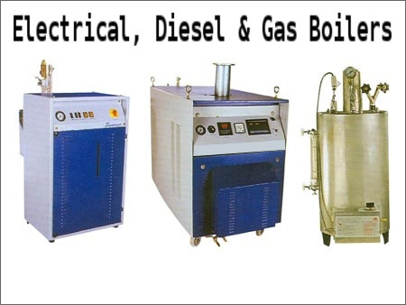 Electrical, Diesel & Gas Boilers