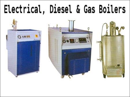 Electrical, Diesel & Gas Boilers