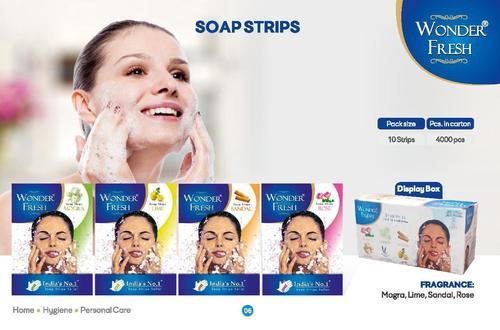 Mogra Fragrance Soap Strips