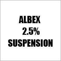Albex 2.5% Suspension