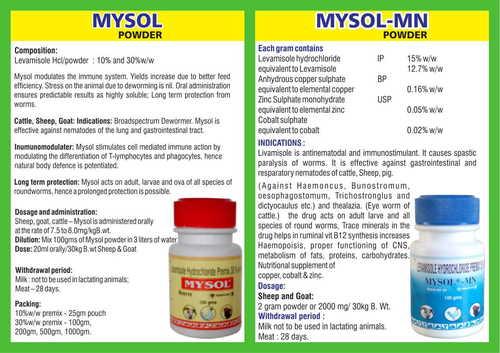 Mysol 30% Powder