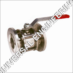 SS Three Piece Flanged End