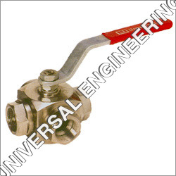 SS Three Way Flanged End