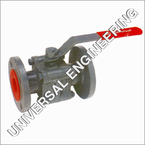 IC Three Piece Flanged End