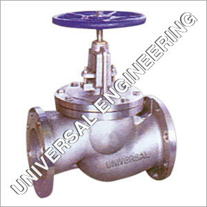 C.S. Globe Valve Flanged End