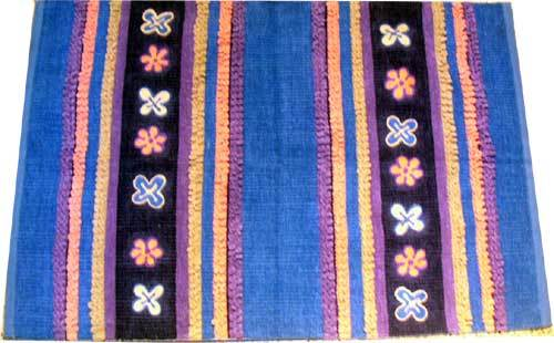 Embroidered Chennile Rugs