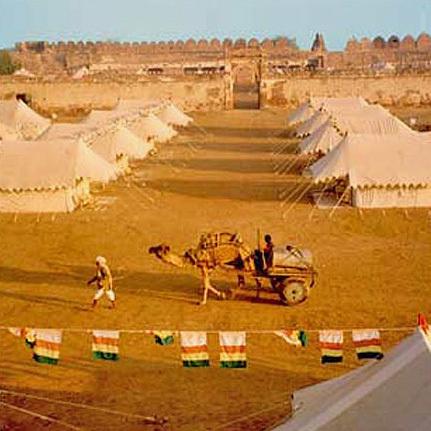 Desert Camping Tent