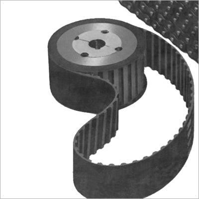Timing Belt Pulley with Belt