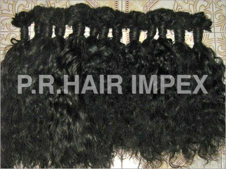 Raw Curly Hair