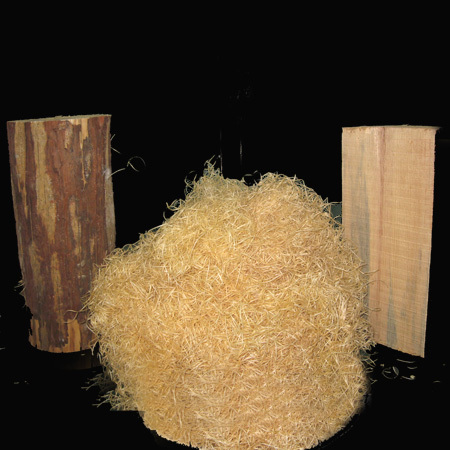 Wood Wool Loose Packaging Material