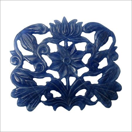 Burmese Blue Sapphire Carving
