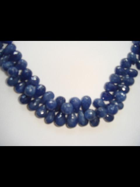 Blue Sapphire Briolettes