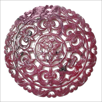African Ruby Carving